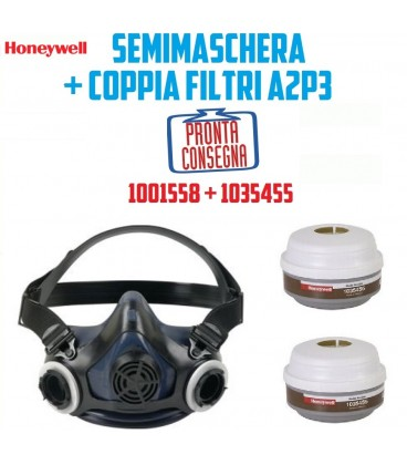 SEMIMASCHERA FILTRI SOSTITUIBILI MX/PF 950 + COPIA FILTRI A2P3